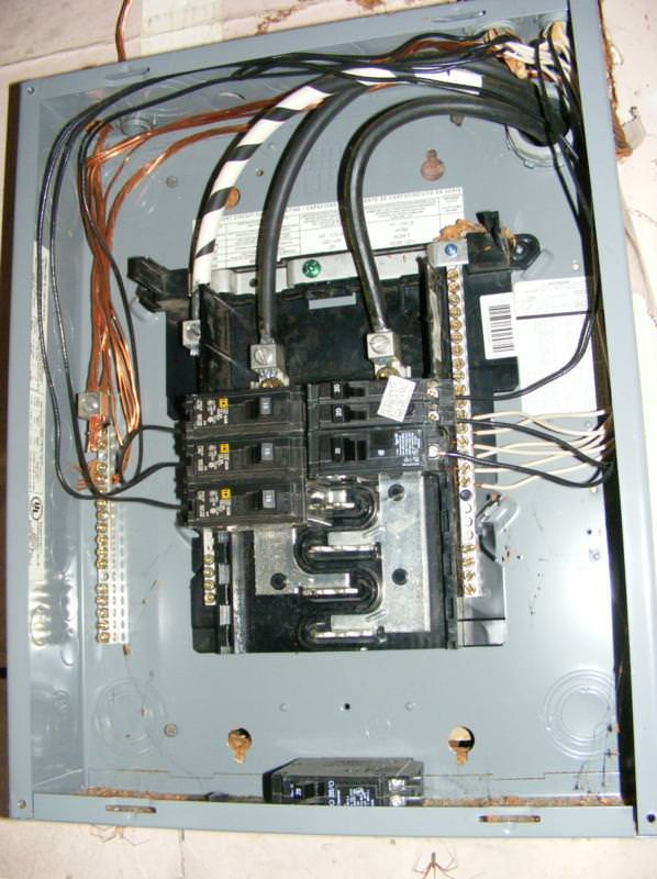 similiar electrical panel bus bar keywords multi wire circuits charles buell inspections inc