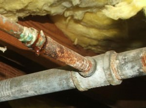 Galvanized pipes in homes charles buell inspections inc for Leaky pipe carries more water