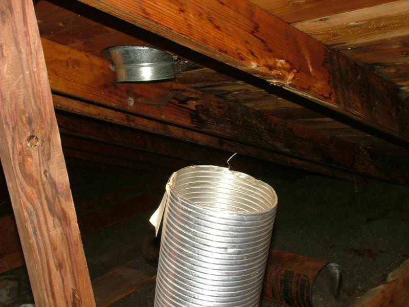 Kitchen Exhaust Fan Ducts