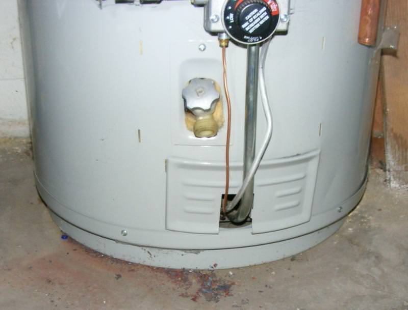 Water Heater Backdrafting Charles Buell Inspections Inc