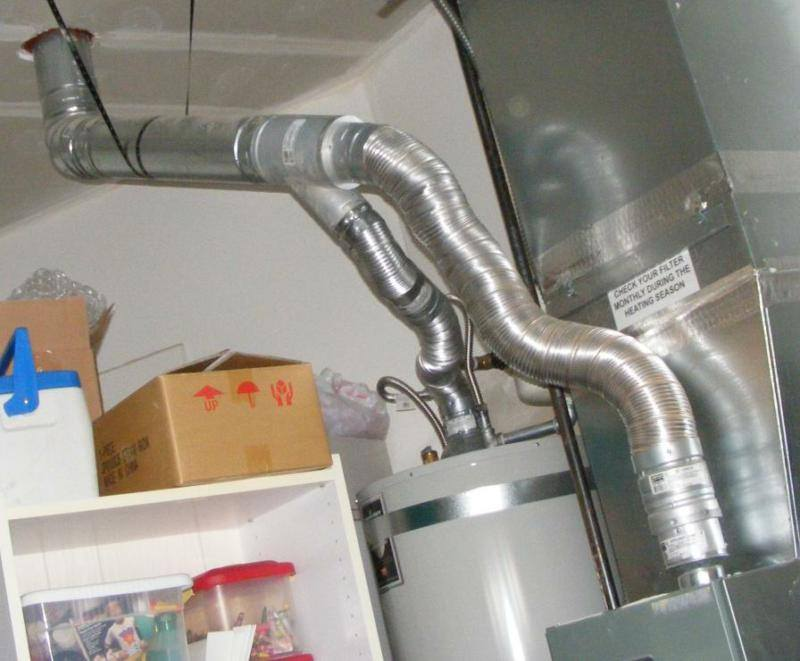 Poor Furnace Venting A Plan Ahead Moment Charles Buell