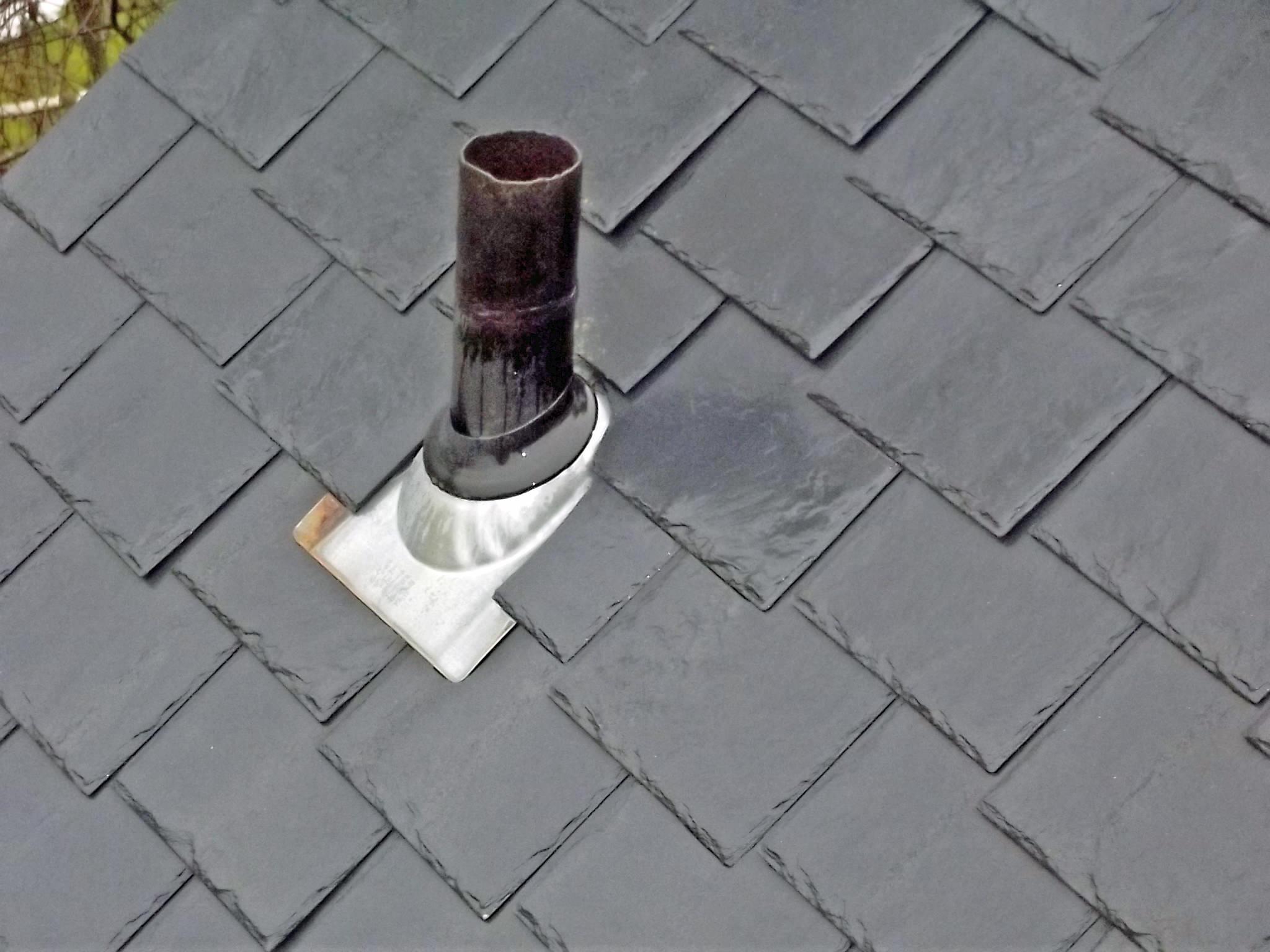 Faux Slate Roof