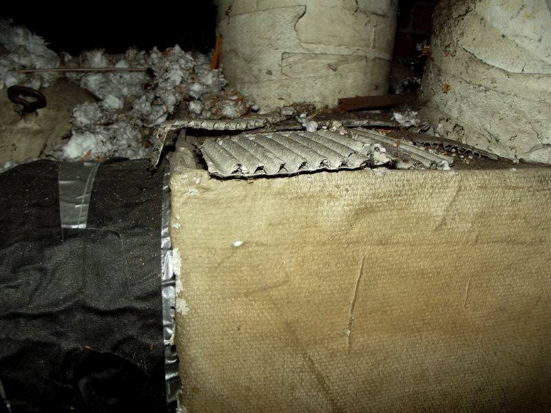 Gray asbestos insulation california mobile home park for Rockwool loose fill
