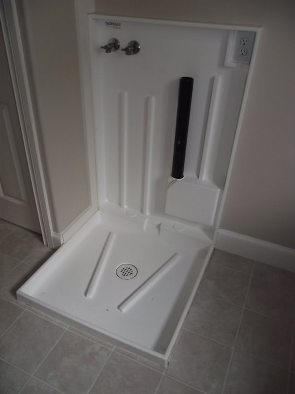 washing machine water catch tray
