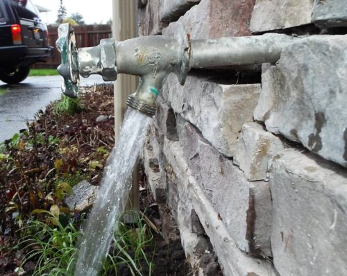 Homeowners would be lost without outside water faucets. - Charles ...