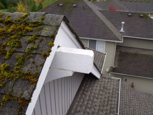 Unflashed corbel on a NW home