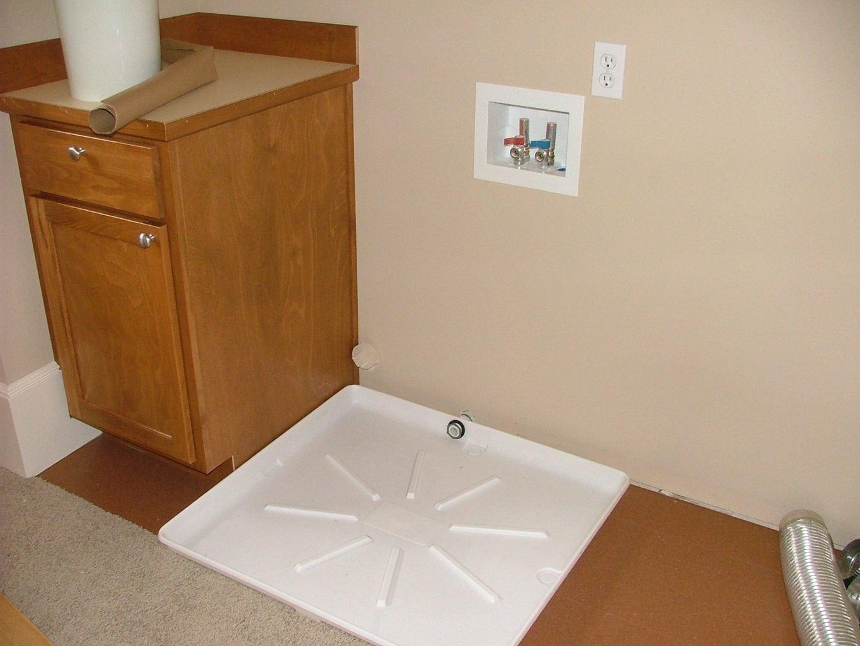 Water Heater And Washing Machine Trays