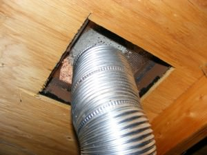 Plugged vent screen