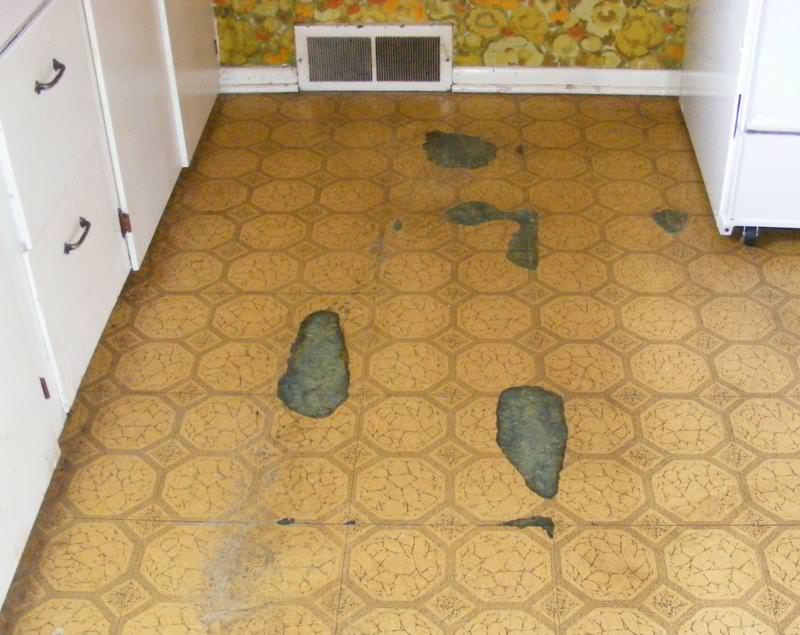 Badly Worn Floor