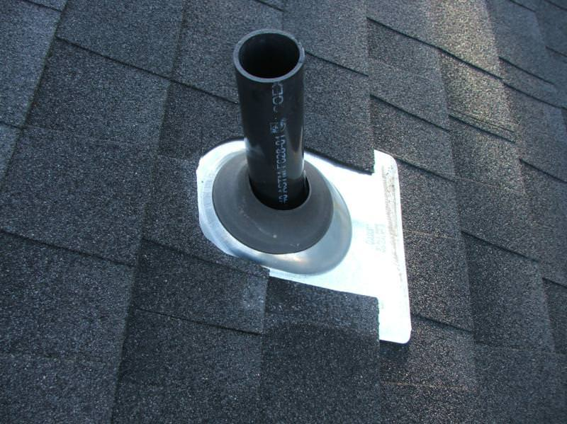 Rubber Boot type pipe flashing on roof that will last longer than the boot