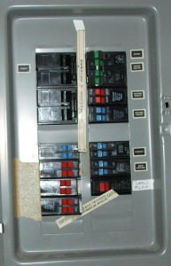 Split Bus Electrical Panel