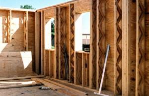 Truss studs in a super insulated home
