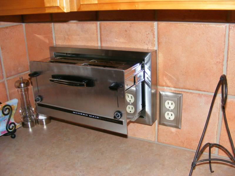 Wall toaster