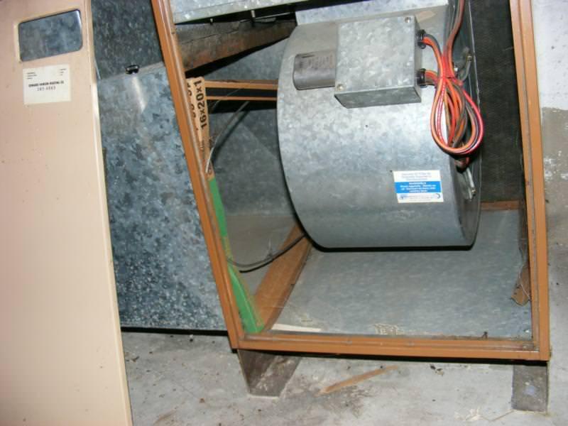 Missing furnace filter