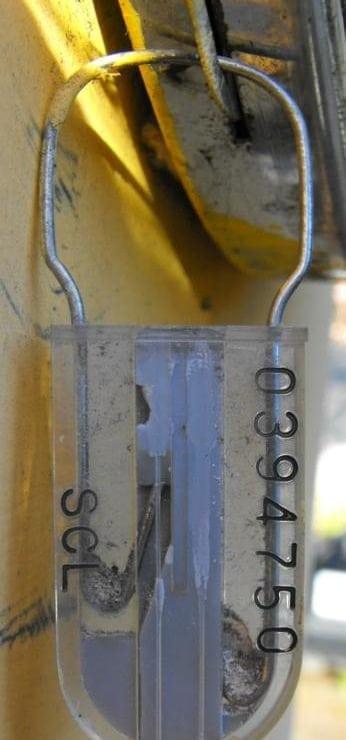Utility company meter seals