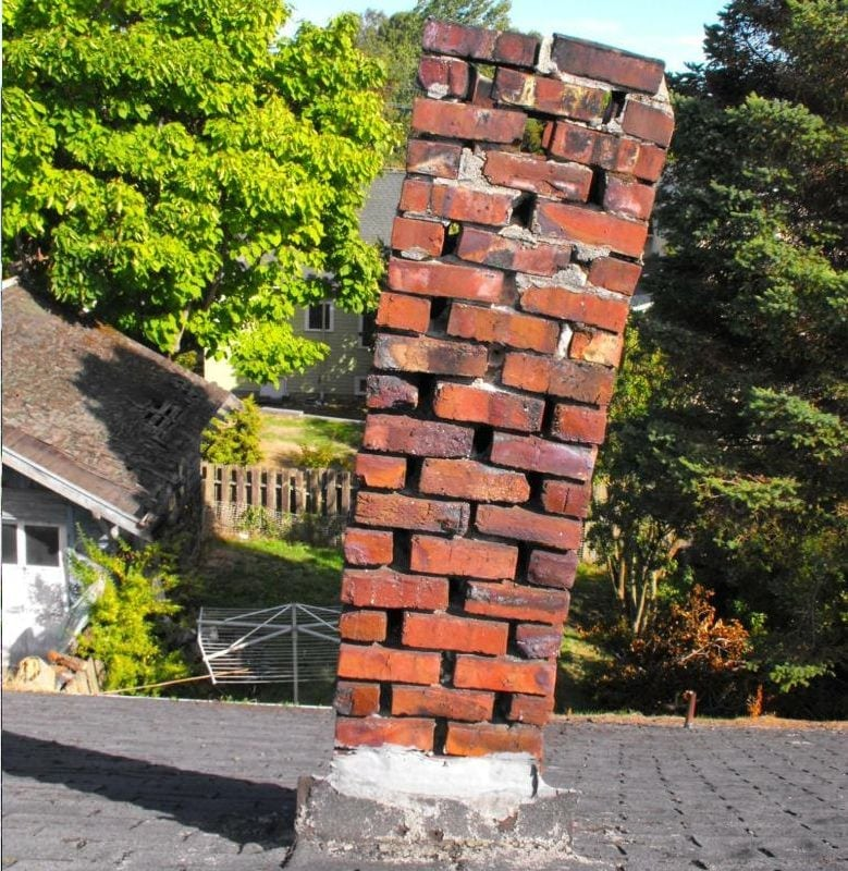 chimney jenga