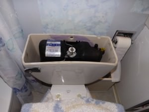 Flushmate Pressurized tank