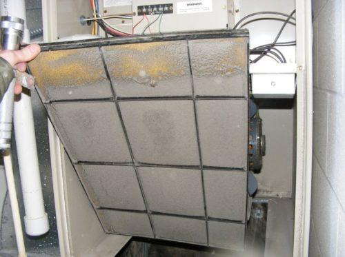 Very Dirty furnace filter