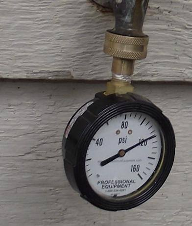 Water Pressure too high