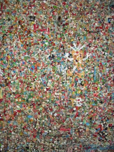 AHHH! The smell of the gum wall!