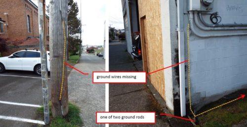 Stolen ground wires