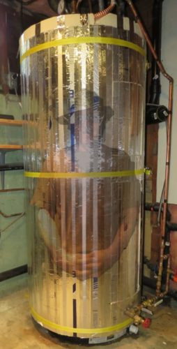 Super Insulated Water Heater